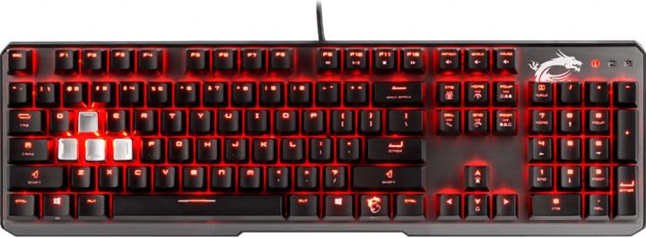 MSI Vigor GK60, Cherry MX Red, CZ/SK