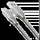 AXAGON SUPERSPEED USB-C - USB-A 3.2 Gen 1, 2m, 3A, oplet, šedý