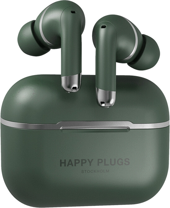 Happy Plugs Air 1 ANC, zelená