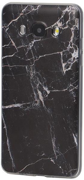 EPICO pouzdro pro Samsung Galaxy J5 (2016) MARBLE - black