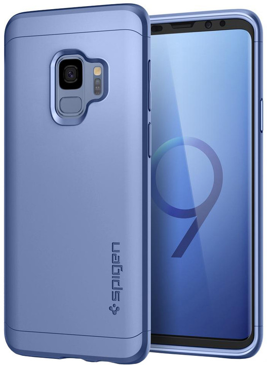 Spigen Thin Fit 360 pro Samsung Galaxy S9, coral blue