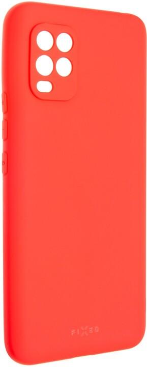 FIXED pogumovaný kryt Story pro Xiaomi Mi10 Lite, červená