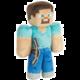 Plyšák Minecraft - Steve s krumpáčem