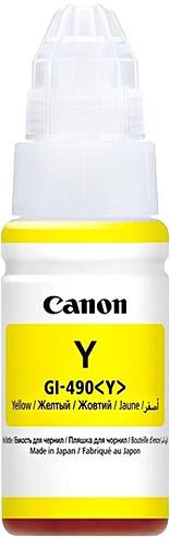 Canon GI-490Y, yellow