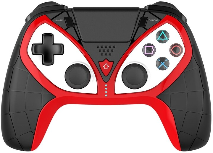 iPega P4012 Wireless Controller pro PS3/PS4/PS5 (IOS, Android, Windows), černá/červená