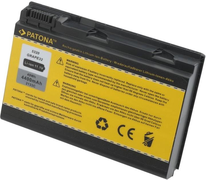 Patona baterie pro ACER, EXTENSA 5220/5620 4400mAh Li-Ion 11.1V