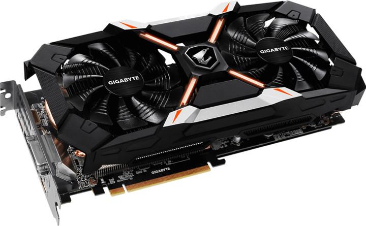 GIGABYTE GeForce AORUS GTX 1060 Xtreme Edition, 6GB GDDR5