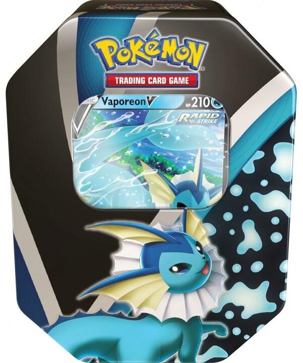 Karetní hra Pokémon TCG: Eevee Evolutions Tin Vaporeon V