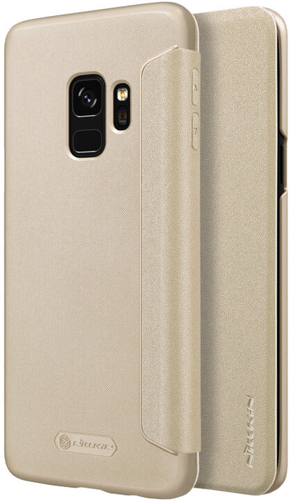 Nillkin Sparkle Folio pouzdro pro Samsung G960 Galaxy S9, Gold