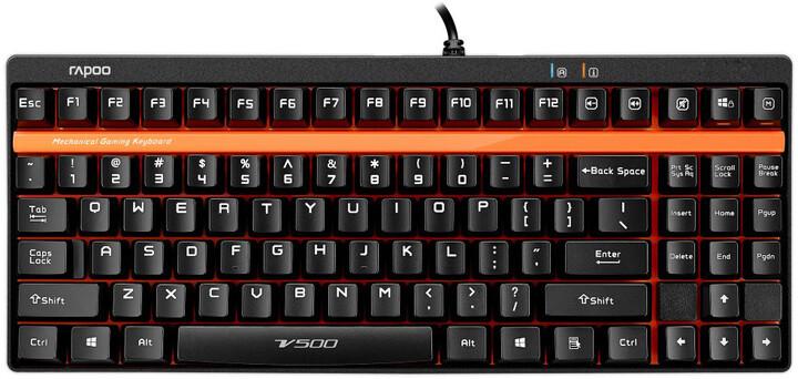 Rapoo VPRO V500, černá, CZ/SK