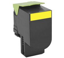 Lexmark 80C2SY0, žlutá, return