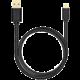 AXAGON BUMM-AM15QB, HQ Kabel Micro USB - USB A, datový a nabíjecí 2A, černý, 1.5 m