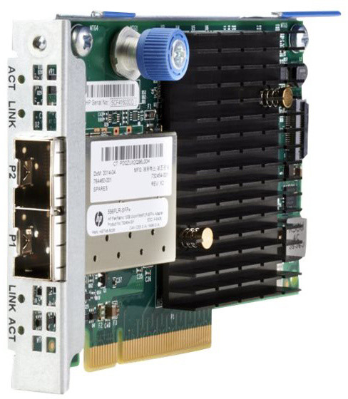 HPE FlexFabric 556FLR-SFP+ 2-portová sítová karta 10Gb