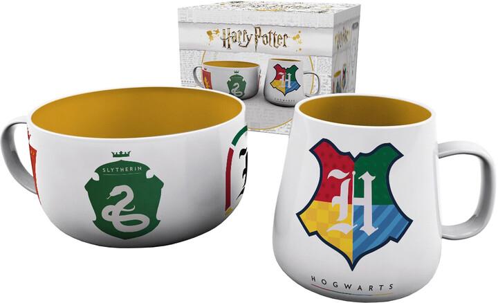 Snídaňový set Harry Potter - House Pride