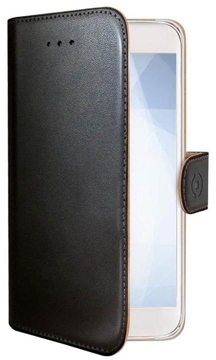 CELLY Wally pouzdro typu kniha pro Huawei Mate 10 Pro, PU kůže, černé