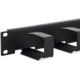 "Triton vyvazovací panel RAB-VP-X23-A1, 19"", 1U, 70x27mm, 6x háček, černý"