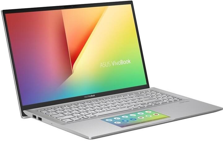 ASUS VivoBook S15 S532FL, stříbrná