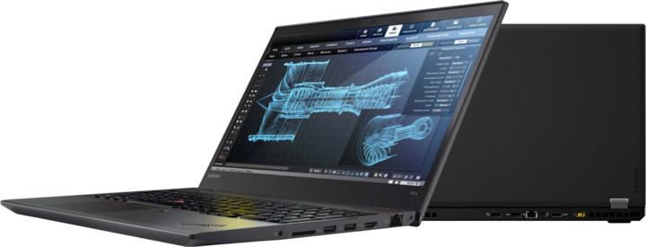 Lenovo ThinkPad P51s, černá