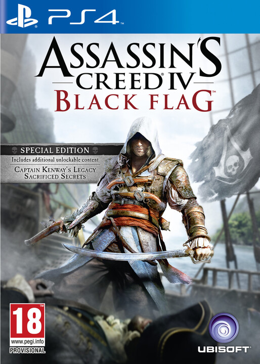 Assassin's Creed IV Black Flag Special Edition (PS4)