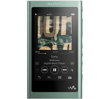Sony NW-A55L - 16GB, zelená - NWA55LG.CEW