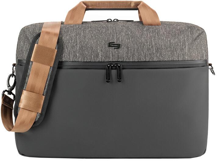 """Solo Frequency Briefcase 15,6"""", černá/šedá"""
