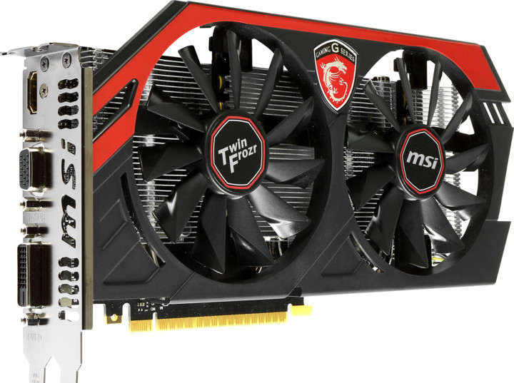 MSI N750 Twin Frozr IV 1GD5/OC Gaming