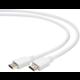 Gembird CABLEXPERT kabel HDMI-HDMI 3m, 1.4, M/M stíněný, zlacené kontakty, bílá