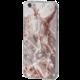 EPICO pružný plastový kryt pro iPhone 6/6S MARBLE - rose