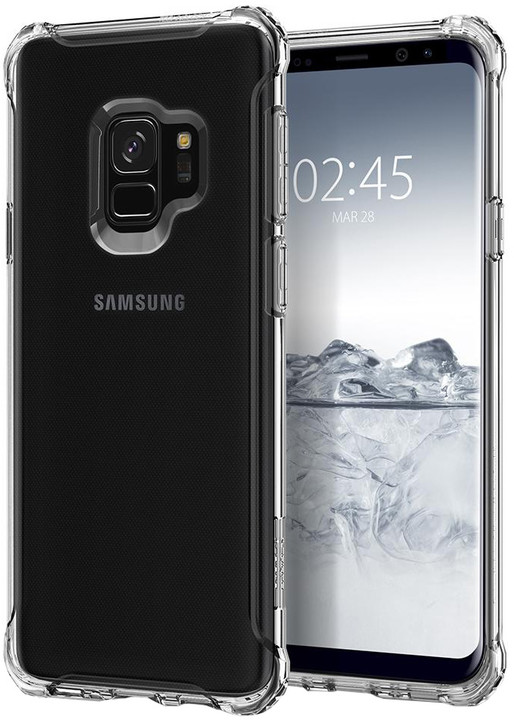 Spigen Rugged Crystal pro Samsung Galaxy S9, clear