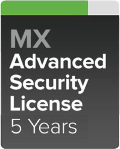 Cisco Meraki MX68W-SEC Pokročilá ochrana a Podpora, 5 let