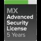 Cisco Meraki MX68-SEC Pokročilá ochrana a Podpora, 5 let