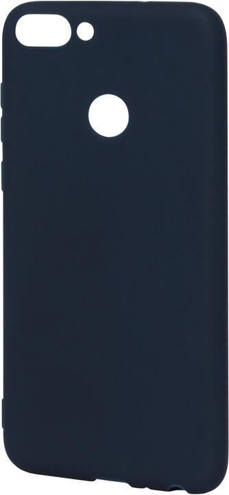 EPICO pružný plastový kryt pro Huawei P Smart SILK MATT - modrý
