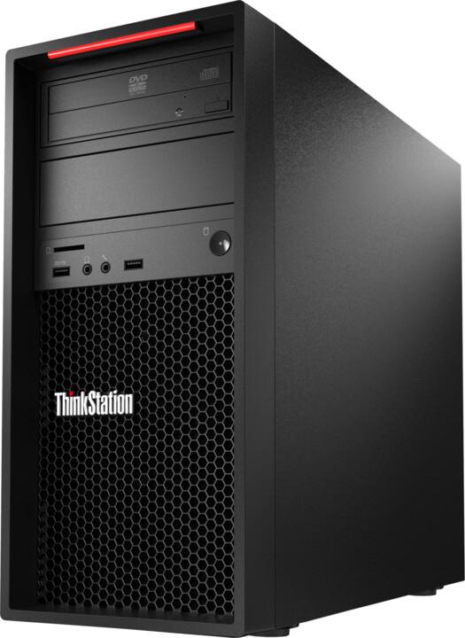 Lenovo ThinkStation P520c TWR, černá