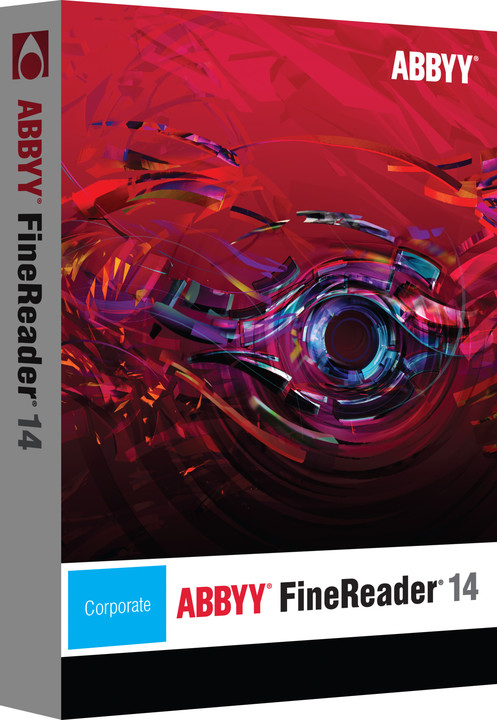 ABBYY FineReader 14 Corporate EDU / ESD / CZ Upgrade from Sprint