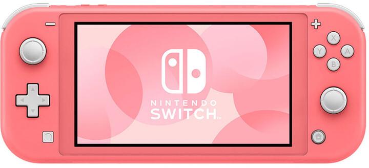 Nintendo Switch Lite, růžová