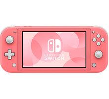 Nintendo Switch Lite, růžová - NSH120