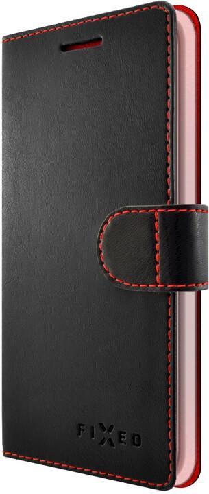 FIXED FIT pouzdro typu kniha pro Huawei P9 Lite Mini, černé