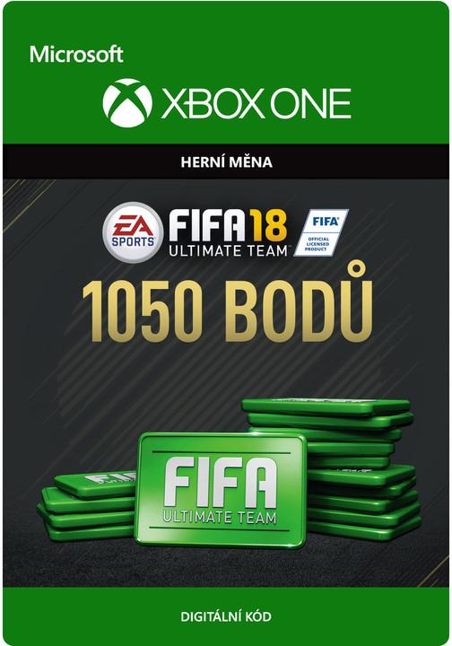 FIFA 18 - 1050 FUT Points (Xbox ONE) - elektronicky