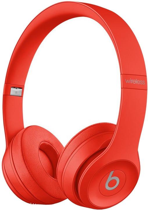Beats Solo3, červená