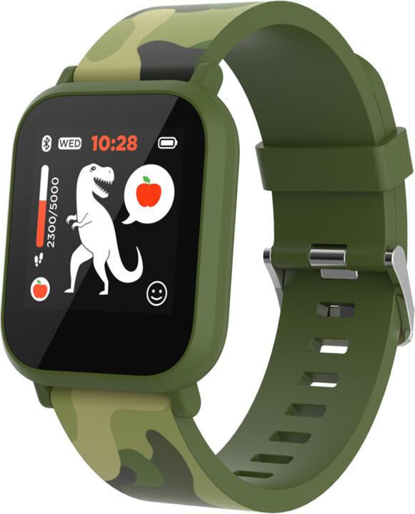 CANYON chytré hodinky My Dino KW-33, Green