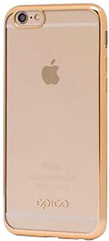 EPICO pružný plastový kryt pro iPhone 5/5S/SE BRIGHT - zlatá
