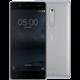 Nokia 5, Single Sim, stříbrná  + Voucher až na 3 měsíce HBO GO jako dárek (max 1 ks na objednávku)