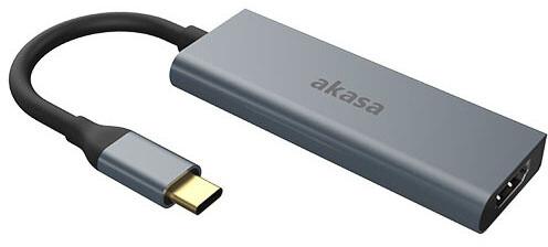 Akasa dokovací stanice 4v1 USB 3.1 Type-C