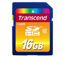 Transcend SDHC 16GB Class 10 - TS16GSDHC10