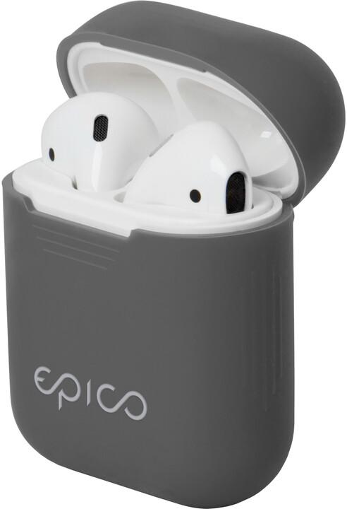 EPICO AIRPODS CASE, šedá