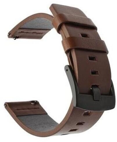 Tactical 630 kožený řemínek pro Huawei Watch GT2/GT2e, 46mm, hnědá