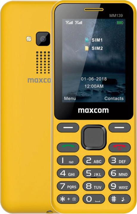 Maxcom MM139, Yellow