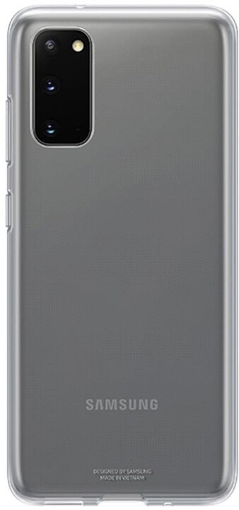 Samsung zadní kryt Clear Cover pro Galaxy S20, transparentní