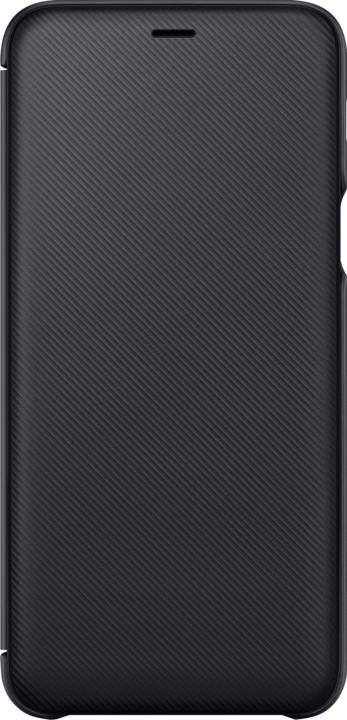 Samsung A6+ flipové pouzdro, černá