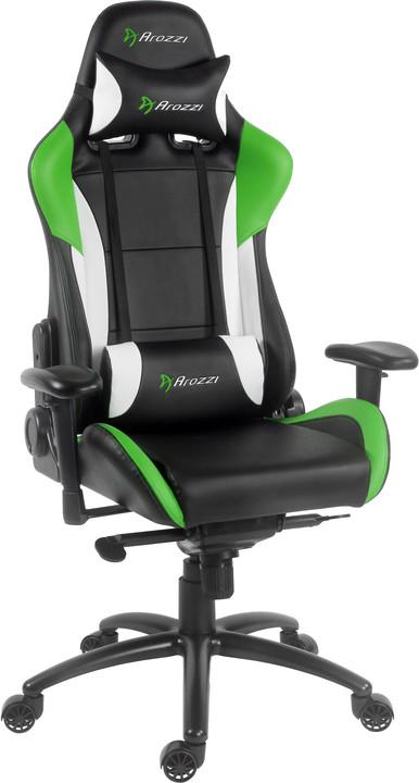 Arozzi Verona Pro, černá/zelená